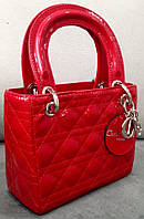 Сумка Christian Dior мини красная