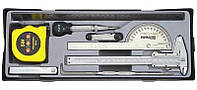 Набор измерительных инструментов FORCE 5096 9 пр.