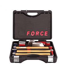 Набор оправок и молотков для рихтовочных работ FORCE 50713B 7 пр.