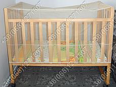 Москитная сетка на детскую кроватку или манеж, фото 3