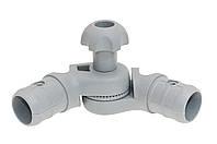 Наклонно-соединительный узел для труб правый (Ø 22/29 мм.)