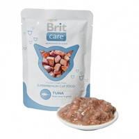 Консервы для кошек Brit Care Cat Тунец в соусе 80 гр.