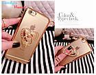 Чехол-накладка Hard PC Bling Diamond Ring Gold Luxury Case для iPhone 6/6s, Винница, фото 3