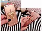 Чехол-накладка Hard PC Bling Diamond Ring Rose Gold Luxury Case для iPhone 6/6s, Винница, фото 2