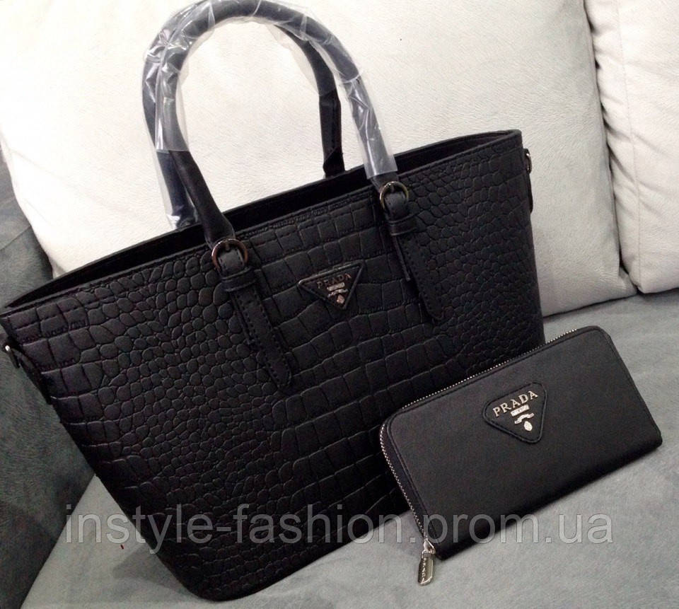18e11e2d17e0 Сумки-копии брендов, Сумка Prada черная - Сумки брендовые, кошельки, очки,