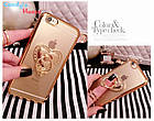 Чехол-накладка Hard PC Bling Diamond Ring Gold Luxury Case для iphone 6 plus плюс, фото 3