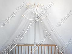 Балдахин 4,5м на детскую кроватку фатин