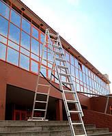 Лестница алюминиевая 3-х секционная 7,1 м, фото 1