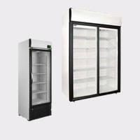 Холодильные шкафы со стеклянной дверью