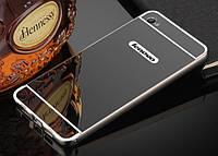Чехол бампер для Lenovo S90 Sisley зеркальный Брак