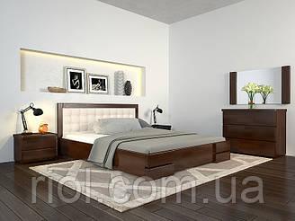Ліжко дерев'яна Регіна Люкс полуторне