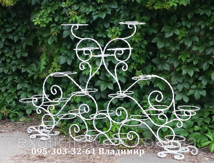 """Підставка для квітів на 40 чаш """"Стрептокарпус-3"""""""