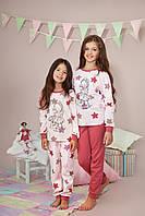 Пижама для девочки р.92-116, 100% хлопок, ELLEN