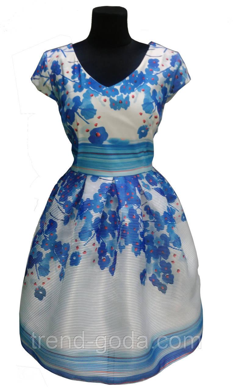 Платье белое нарядное молодежное Турция