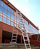 Лестница алюминиевая 3-х секционная 7,1 м