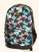 Стильный рюкзак для школы с ортопедической спинкой 8385