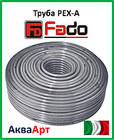 Труба PEX-А с кислородным барьером FADO 25х3.5 50 м.
