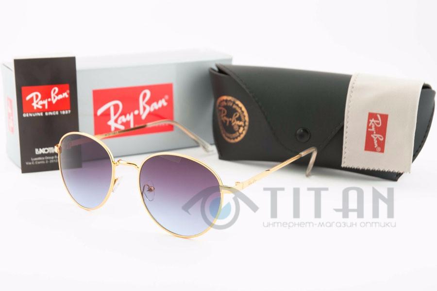 Солнцезащитные очки Ray Ban купить Round 663-7