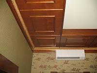 Потолочные панели из массива