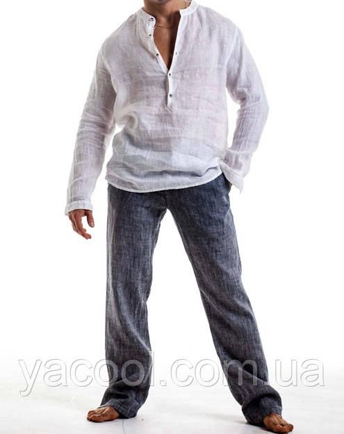 716984fe5962 Мужской пляжный костюм из натурального льна. Цвет, размер на выбор до 72р -  Интернет