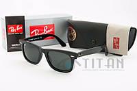 Очки солнцезащитные ray ban 2140 black, фото 1