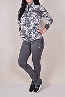 Костюм спортивный женский трикотажный Billcee Размеры в наличии : 44,48,50,52,54 арт.61W9017-2IP (производство