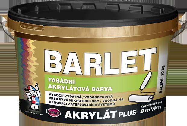 Фасадная акриловая краска BARLET AKRYLÁT PLUS V4013