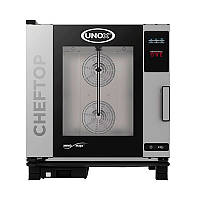 Печь пароконвекционная, газовая Unox (Италия) XEVC0511GPR