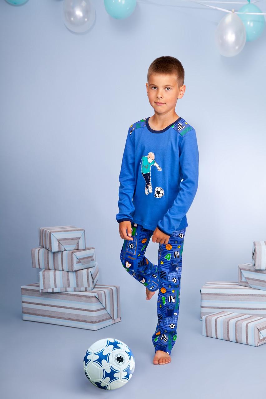 Піжама для хлопчика довгий рукав р.146-158, 100% хлопок, ELLEN