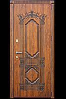 Металлические входные двери с МДФ
