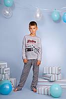 Піжама для хлопчика довгий рукав р.116-140, 100% хлопок, ELLEN