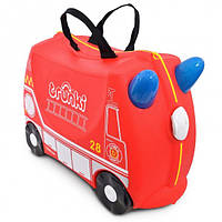 Детский чемоданчик на колесах Trunki Frank the Fire Truck TRU-0254