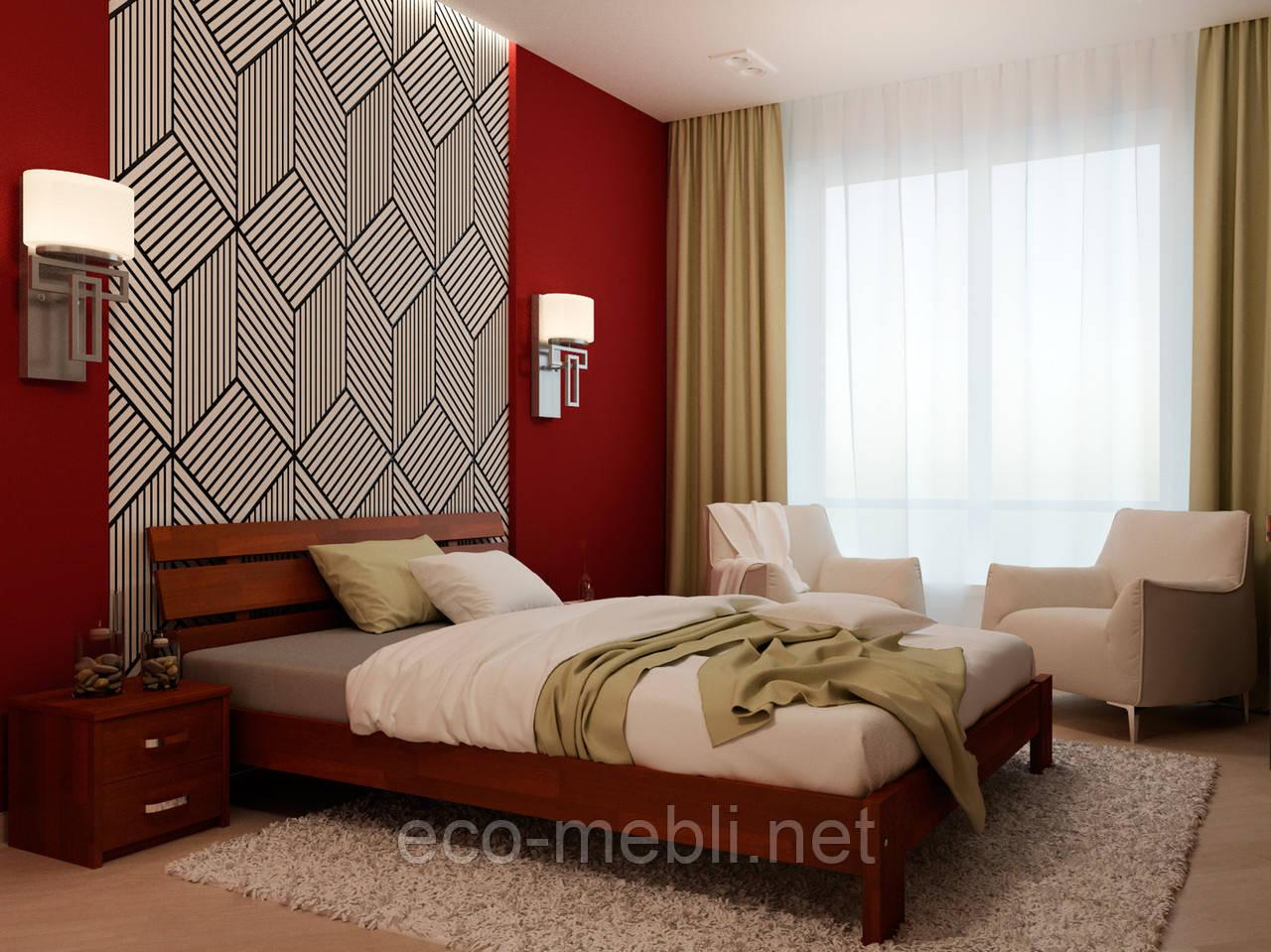 Двоспальне ліжко Лагуна  НеоМеблі