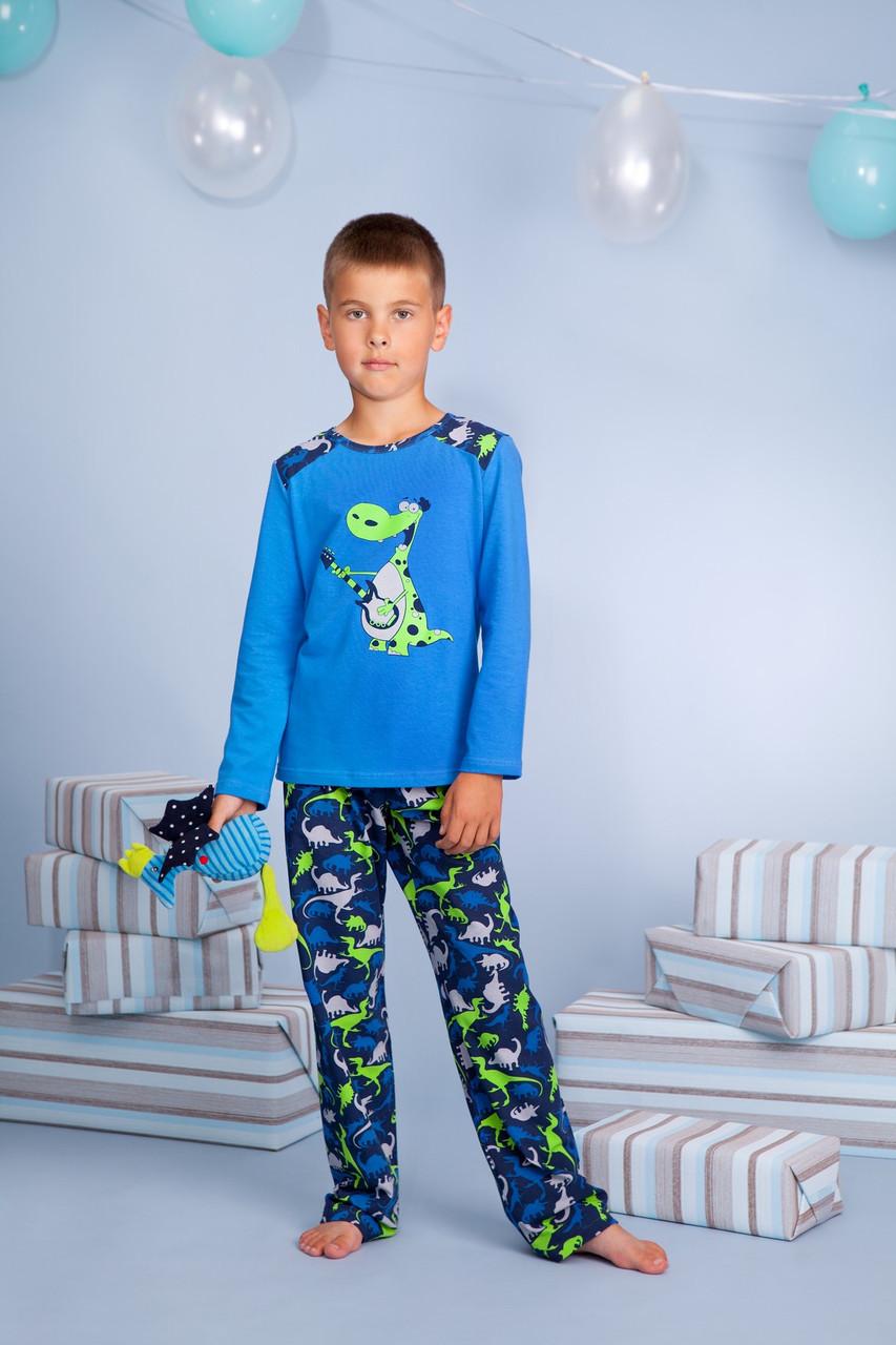 Піжама для хлопчика довгий рукав р.92-116, 100% хлопок, ELLEN
