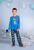 Піжама для хлопчика довгий рукав р.122-140, 100% хлопок, ELLEN