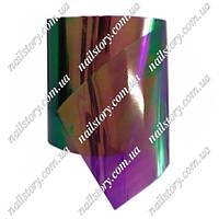 """Фольга  """"Битое стекло"""" для дизайна ногтей №14"""