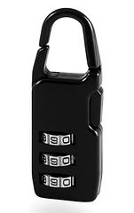 Замок навесной чемоданный кодовый Авантэк NLBP (цинковый)