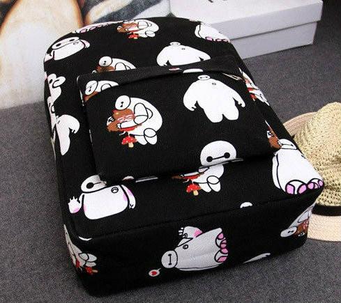 Рюкзак для школы с рисунком героя с мультфильма