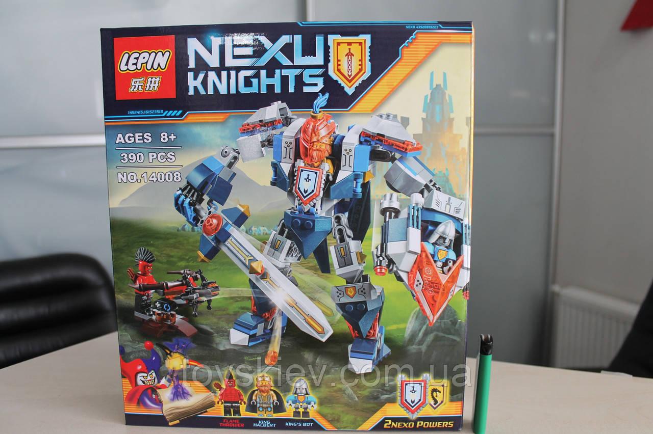 "Конструктор аналог Lego Нексо найтс ""NEXO KNIGHTS"" 14008 Робот короля"