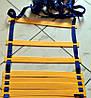 Лестница для тренировки скорости 12 ступеней - 6м (пластик, PL 4мм)