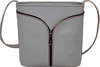 Компактная женская сумочка из натуральной кожи VATTO Wk53 Sp3, серый