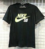 Мужская футболка Nike котон,  копия