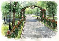 Концепция на озеленение и благоустройство Мариинского парка
