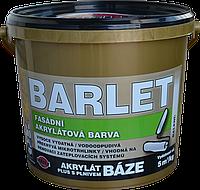 Фасадная акриловая краска BARLET AKRYLÁT PLUS S PLNIVEM BÁZE V4011