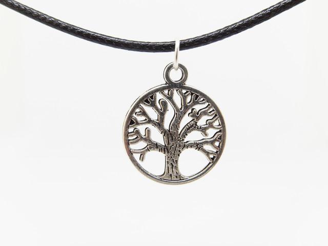 Кулон дерево символ жизни