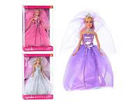 Кукла DEFA 8253 невеста (цвет может отличатся от фото)
