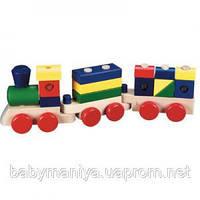 Детская игрушка Поезд из кубиков Melissa & Doug