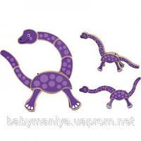 Детская головоломка Динозаврик Melissa & Doug
