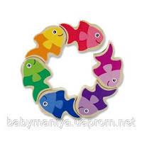 Головоломка для детей от 6 месяцев Рыбки Melissa & Doug