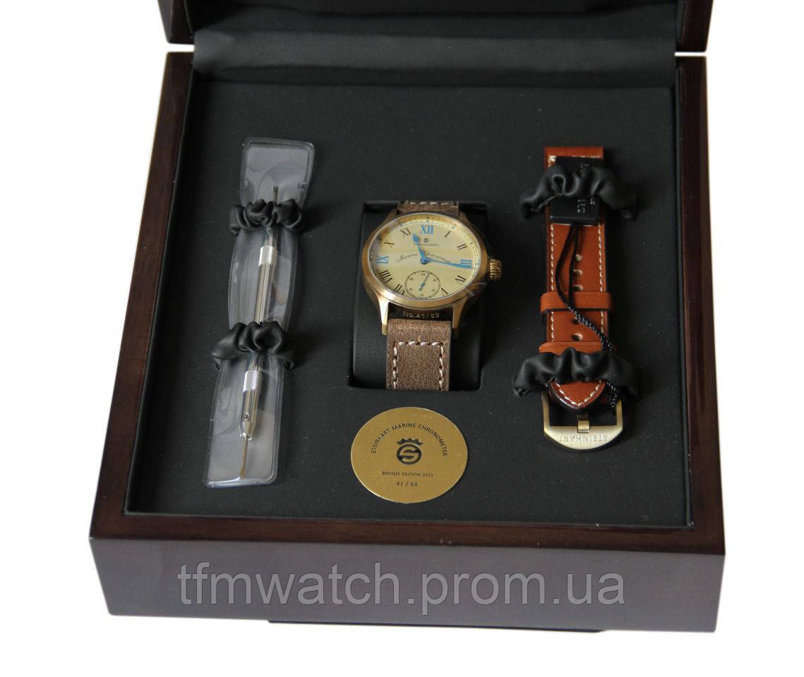"Steinhart ""Marine Chronometer Bronze Edition"""